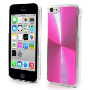 Rose CD Lines Aluminium & Plastic Cover for iPhone 5c
