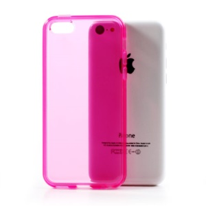 Rose Soft TPU Gel Case Cover Accessory for iPhone 5C