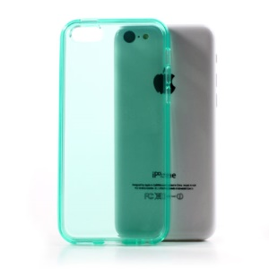Cyan Soft TPU Gel Case Cover Accessory for iPhone 5C
