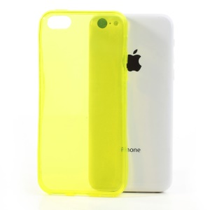 Yellow Soft TPU Gel Case for iPhone 5c