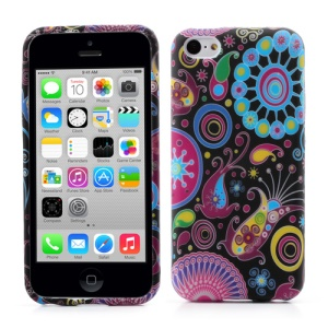 Colorful Pattern TPU Soft Protective Case for iPhone 5c
