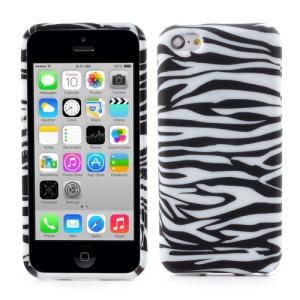 Fashion Zebra Stripe TPU Gel Case for iPhone 5c