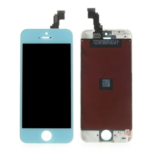 Baby Blue for iPhone 5c LCD Assembly with Touch Screen + Digitizer Frame + Front Camera Holder