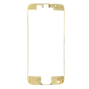 For iPhone 5c Touch Screen Frame Bezel Replacement - Yellow
