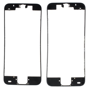 For iPhone 5c Supporting Frame Bezel Replacement - Black
