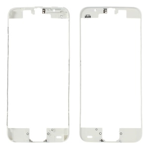 For iPhone 5c Supporting Frame Bezel Replacement - White