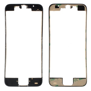 Black for iPhone 5c Supporting Frame Bezel with Adhesive Tape Sticker