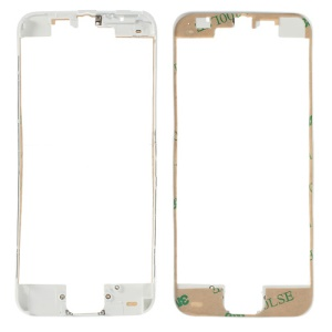 White for iPhone 5c Supporting Frame Bezel with Adhesive Tape Sticker