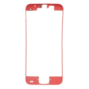 For iPhone 5c Supporting Frame Bezel Replacement - Red
