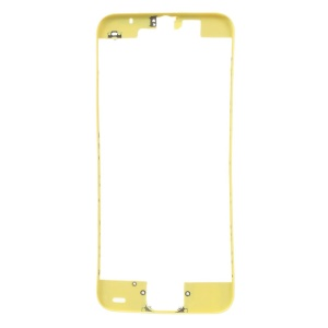 For iPhone 5c Supporting Frame Bezel Replacement - Yellow