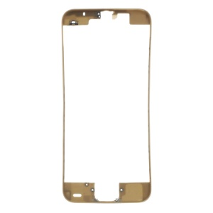 For iPhone 5c Supporting Frame Bezel Replacement - Gold