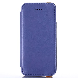 Purple for iPhone 5s 5 KLD My Love Series PU Leather Cover w/ Card Slot