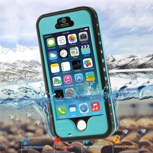 Cyan Redpepper Protective Waterproof Shell for iPhone 5 5s, Support Fingerprint Identification Function