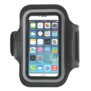 Running Jogging Sports Gym Armband Pouch for iPhone 5 5s - Black