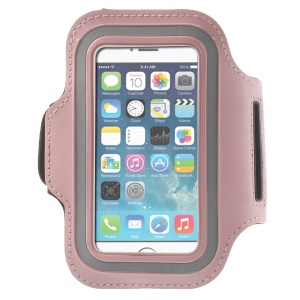 Running Jogging Sports Gym Armband Pouch Case for iPhone 5 5s - Pink
