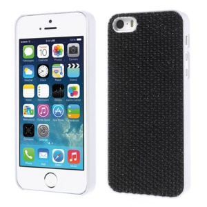 Bling Bling Gel Crystal Hard PC Case for iPhone 5s 5 - Black