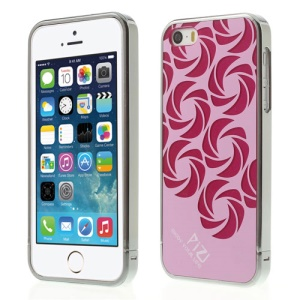 Pink PIZU Windmill Pattern 3 in 1 Protective Hard Cover for iPhone 5s 5