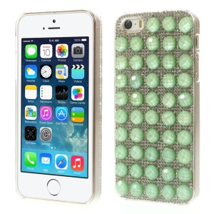 Bling Diamond PC Hard Shell for iPhone 5s 5 - Cyan