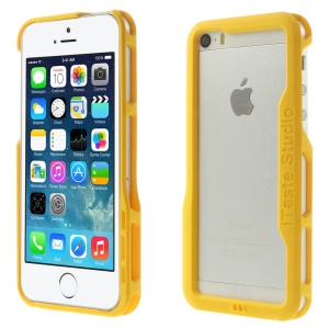 iTaste Studio PC Bumper Frame Backless Case for iPhone 5s 5 - Yellow