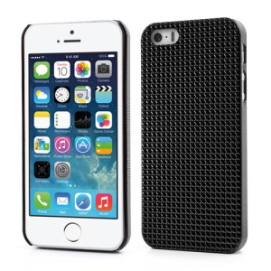 3D Pyramids Hard Cover Case for iPhone 5s 5 - Black