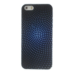 Radial Small Balls Pattern for iPhone 5s 5 PC Hard Protective Shell