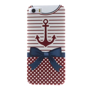 For iPhone 5s 5 Anchor Nautical Clothing Durable Hard Case