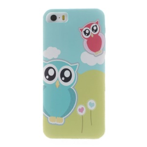 For iPhone 5s 5 Adorable Owls Protective Plastic Back Case