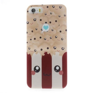 Lovely Popcorn Pattern Tough Hard Cover for iPhone 5s 5