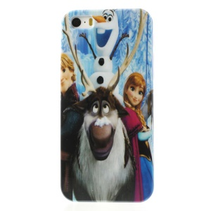 Frozen Princess Cartoon Poster Glossy Hard Plastic Case for iPhone 5s 5