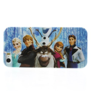 Frozen Cartoon Design Glossy Hard Back Case for iPhone 5s 5
