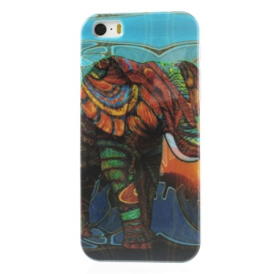 Giant Elephant Glossy Hard Shell Cover for iPhone 5s 5