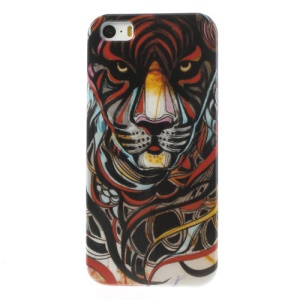 Fierce Tiger Glossy Hard Case Accessory for iPhone 5s 5