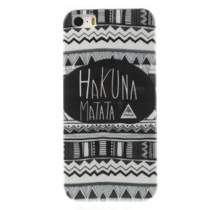 Hakuna Matata Tribe Glossy Hard Case Cover for iPhone 5s 5