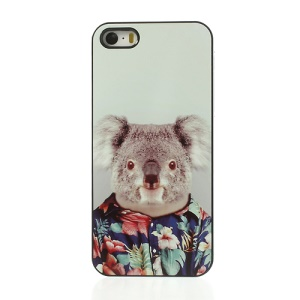 Humanising Animal Koala Plastic Back Case for iPhone 5s 5