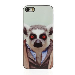 Animal Portrait Lemur Plastic Case Shell for iPhone 5s 5