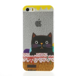 Black Cat Hard Back Case for iPhone 5s 5
