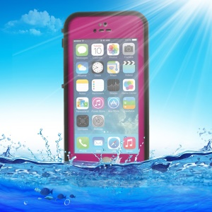 Rose Redpepper Waterproof Cover for iPhone 5 5s, Support Touch ID Function