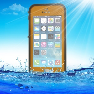 Orange Redpepper Waterproof Cover for iPhone 5 5s, Support Touch ID Function