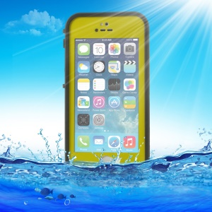 Yellowgreen Redpepper Waterproof Cover for iPhone 5 5s, Support Touch ID Function