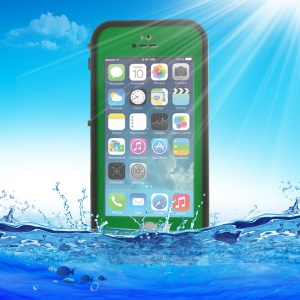 Green for iPhone 5 5s Redpepper Waterproof Shell, Support Touch ID Function