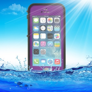 Purple for iPhone 5 5s Redpepper Waterproof Shell, Support Touch ID Function