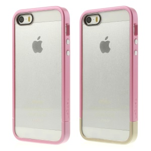 Spigen SGP Linear Cover PC Bumper & Crystal Back Panel for iPhone 5s 5 - Rose