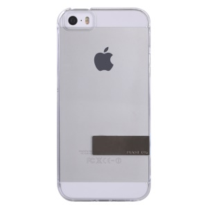 Baseus Sky Series Transparent Clear Hard Case for iPhone 5s 5 - Transparent / Gold