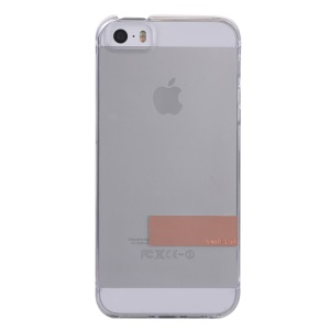 Baseus Sky Series for iPhone 5s 5 Transparent Clear Hard Cover - Transparent / Tarnish