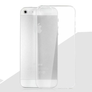 HelloDeere Filmy Series 0.5mm Slim Hard PC Case for iPhone 5 5s - Transparent