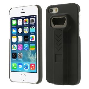 Cigarette Lighter Bottle Opener Plastic Case for iPhone 5s 5 - Black