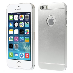 Slim Metal Hard Cover for iPhone 5s 5 - Silver