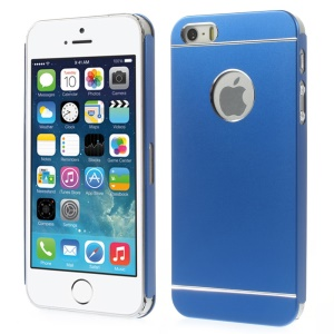 Slim Metal Hard Back Case Cover for iPhone 5s 5 - Dark Blue