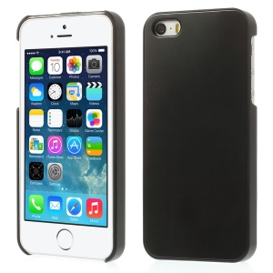 Solid Color for iPhone 5s 5 Hard PC Cover w/ Gray Aluminum Sheet