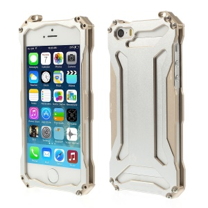Re-laxing Transformers Metal Aluminum Bumper Iron Man Case for iPhone 5s 5 - Silver